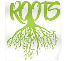 Green Roots Poster