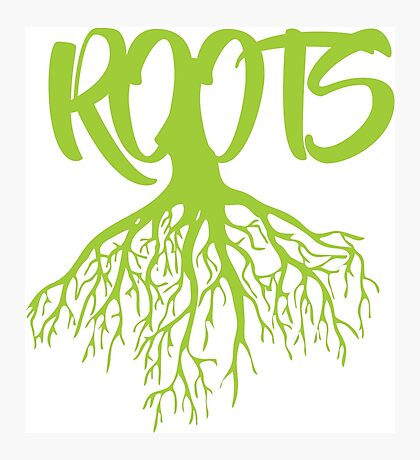 Green Roots Photographic Print