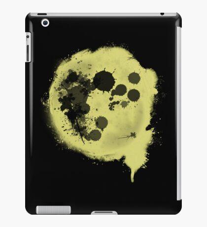Splatter Moon iPad Case/Skin