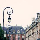 Pretty Place des Vosges by Caroline Mint