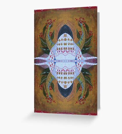 Bug with horns Greeting Card