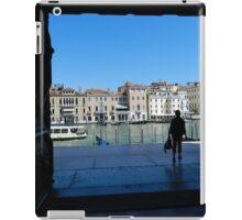 Tourist in Venice iPad Case/Skin