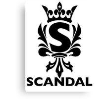 Scandal Band 2F Canvas Print