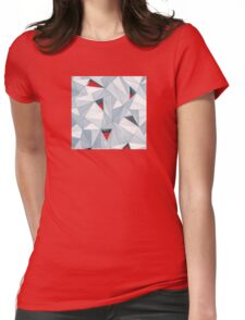 Poly Holes Womens Fitted T-Shirt