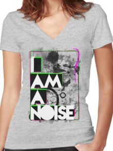 NOISE Women's Fitted V-Neck T-Shirt