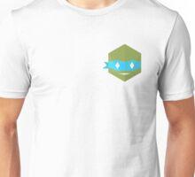 Teenage mutant minimalist turtles Leonardo (white) Unisex T-Shirt