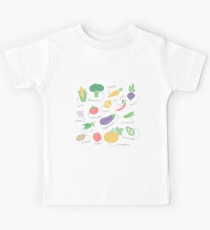 Hypnotizing vegetables Kids Tee