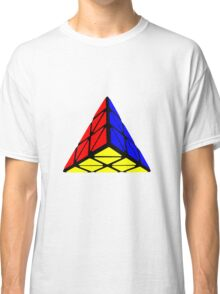 Pyraminx cude painting Classic T-Shirt