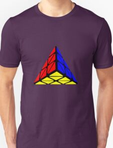 Pyraminx cude painting T-Shirt