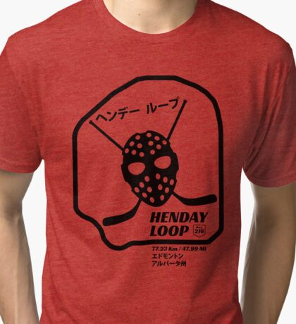 Henday Loop Tri-blend T-Shirt