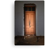 Authorised persons only Canvas Print