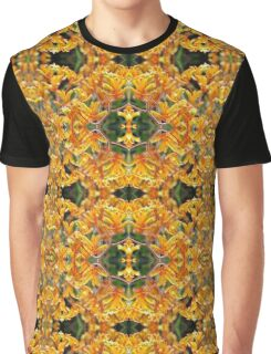 Yellow Kangaroo Paw Patterns Graphic T-Shirt