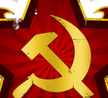 CCCP Army Sticker
