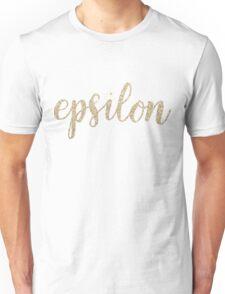 epsilon gold Unisex T-Shirt