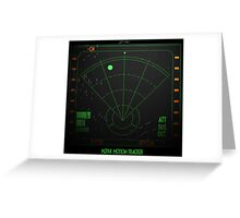 Motion Tracker - Alien Isolation Greeting Card