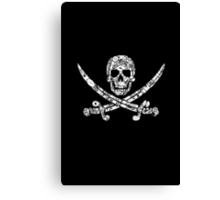 Pirate Service Announcement Canvas Print