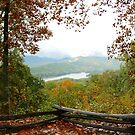 Lake Fontana In Autumn by Asoka
