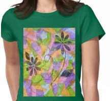 Pretty Posies Womens Fitted T-Shirt