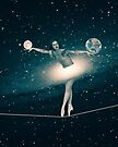 The Cosmic Game of Balance or Universe Ballerina by Paula Belle Flores