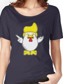 Trump Rooster Women's Relaxed Fit T-Shirt