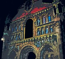 "Notre dame like you've never seen...  8 (t) as paint "" Picasso ""! olao-olavia  okaio Créations by Okaio - Olivier Caillaud"