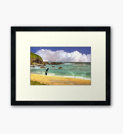The call of the sea Framed Print