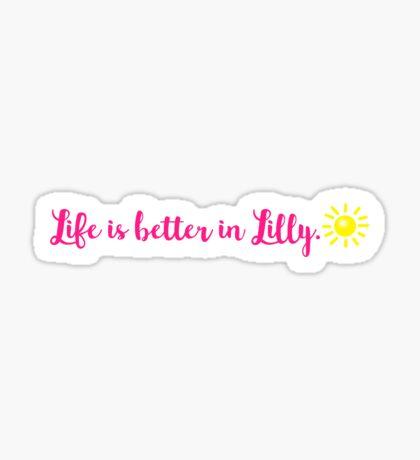 Lilly Pulitzer || (mini) Sticker