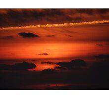 Sunrise over Dune Road Photographic Print