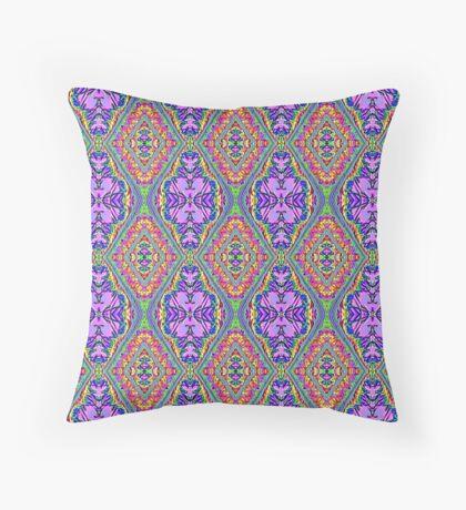 royal pattern II Throw Pillow