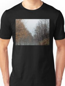 Winter Fall Trees Unisex T-Shirt