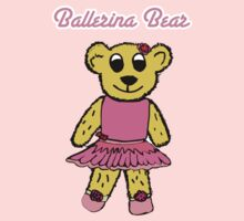 Ballerina Bear One Piece - Short Sleeve