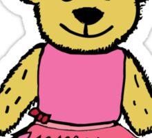 Ballerina Bear Sticker