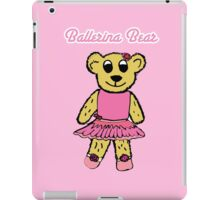 Ballerina Bear iPad Case/Skin