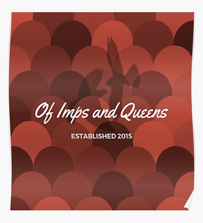 Of Imps and Queens - Falcons Poster