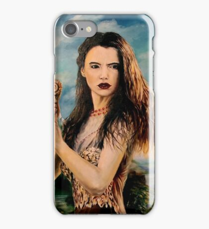 Goddess Freyja Overlooking the Fólkvangr iPhone Case/Skin