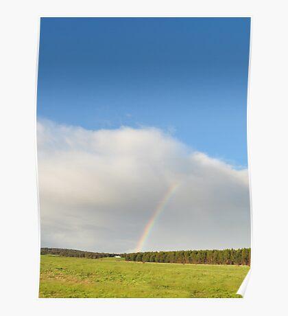 Rainbow sunshine Poster