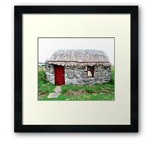 Canny's Cottage, Donegal, Ireland Framed Print
