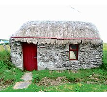 Canny's Cottage, Donegal, Ireland Photographic Print