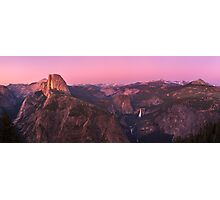 Glacier point at sunset Photographic Print