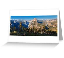 Yosemite valley from panorama trail Greeting Card