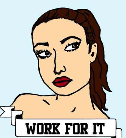 Athletic Femme Sticker