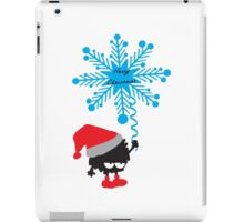Merry Christmas little santa iPad Case/Skin