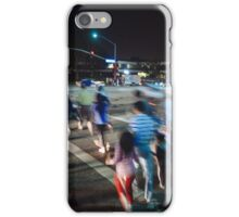 Busy street in Cupertino, California iPhone Case/Skin