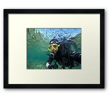 Scuba diving#14 Framed Print