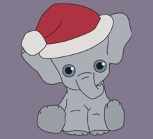 Christmas Elephant Kids Clothes