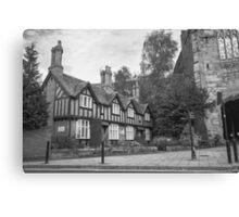 West Gate Cottages Canvas Print