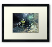 Scuba diving#15 Framed Print