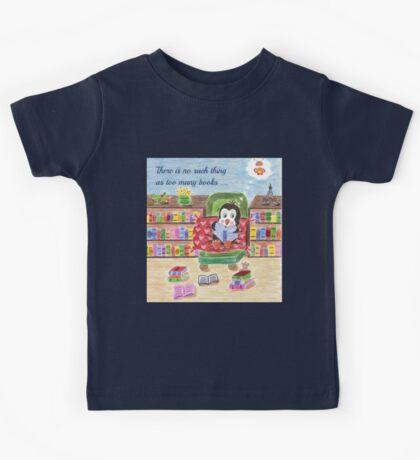 Smart Reading Penguin Kids Tee