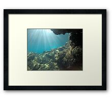 Scuba diving#17 Framed Print