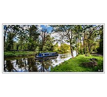 England Backwater Photographic Print